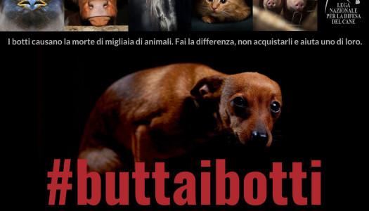 #Buttaibotti: la campagna di LNDC per un Capodanno senza botti